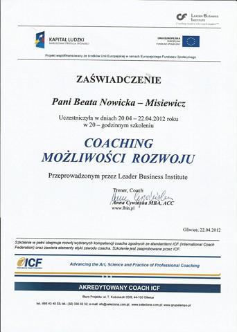 Coaching - Możliwości Rozwoju