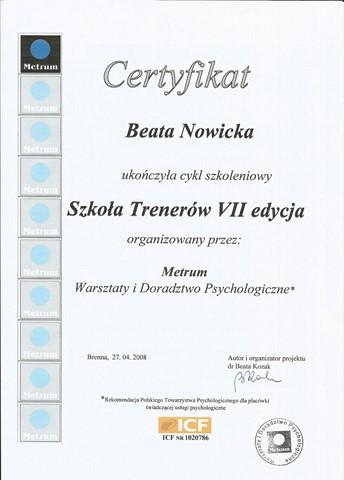 Szkoła Trenerów METRUM cz.1