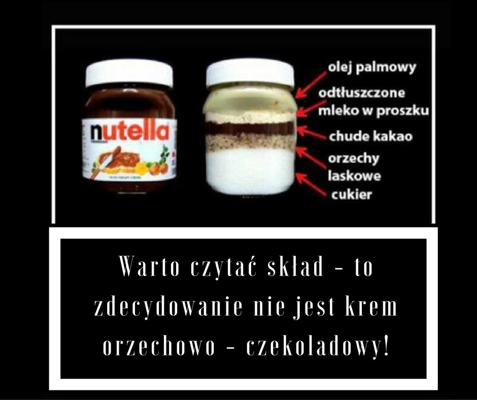 Jak zmniejszyć apetyt - zdjęcie nutelli